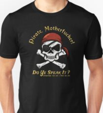 Pirate Tee - Do You Speak It? T-Shirt
