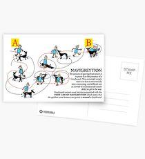 Greyhound Glossary: Navigreytion Postcards