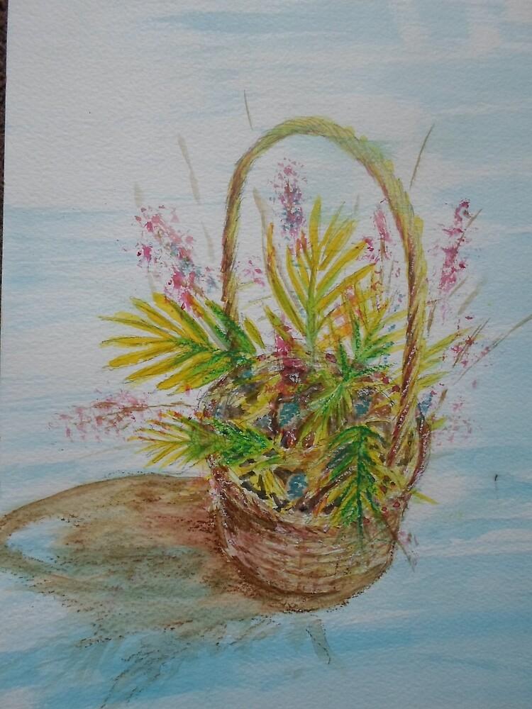 Flower Basket by Beswickian