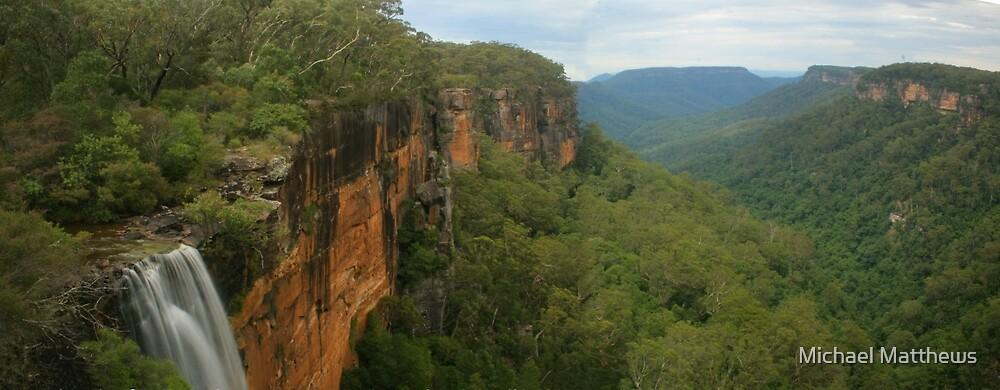 Fitzroy Falls & Kangaroo Valley pano by Michael Matthews