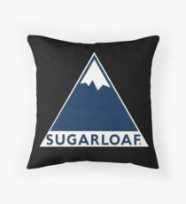 Sugarloaf Maine Throw Pillow