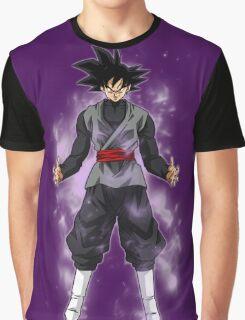 Goku Black Powering up Graphic T-Shirt