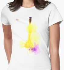 Watercolor-Girl Women's Fitted T-Shirt