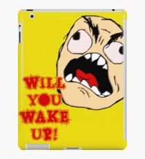 Will You Wake Up from Hells Kitchen iPad Case/Skin