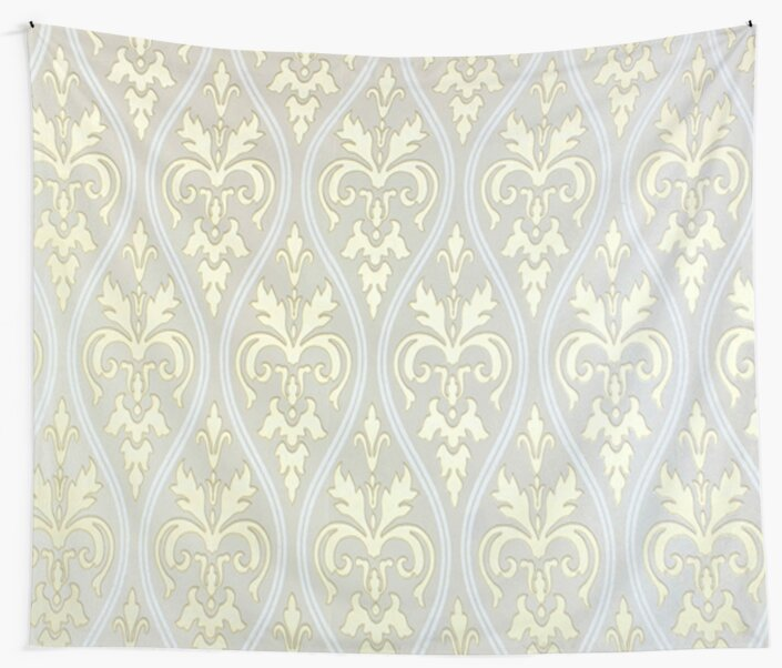 Gold,silver,white,damask,vintage,pattern,shabby chic,elegant,chic by love999