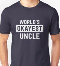 World's Okayest Uncle Unisex T-Shirt