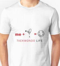 Taekwondo life Slim Fit T-Shirt