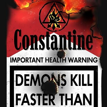 Constantine Warning by heavyplasma