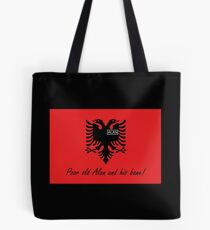 Albania - Poor old Alan and his bane! - by Flagging Awesome Tote Bag