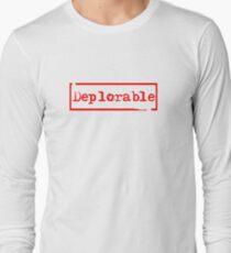 Deplorable Long Sleeve T-Shirt