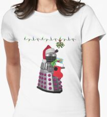 Ding dong  - Christmas calling Women's Fitted T-Shirt