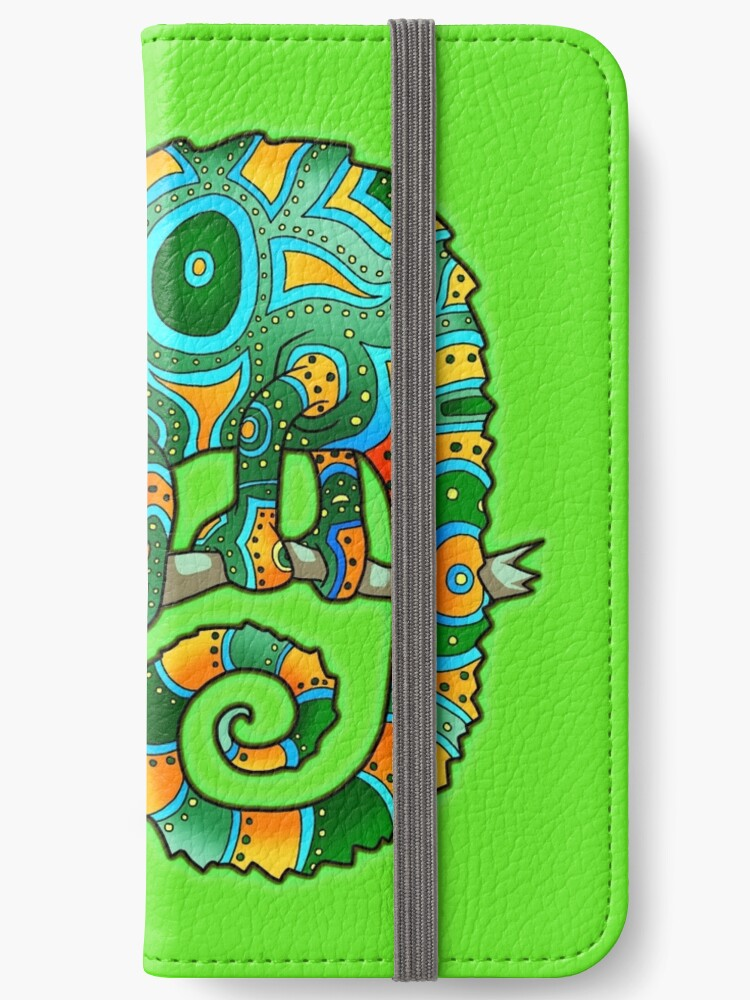Chameleon (Green/Orange) by PenScalesDesign