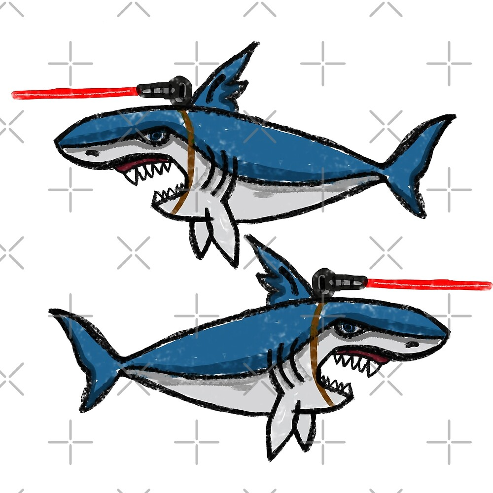 Sharks With Friggin' Laser Beams Attached to Their Heads by Barnyardy