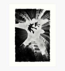 Mecha Flight Art Print