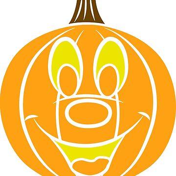 Not So Scary Pumpkin by FishboneTrove