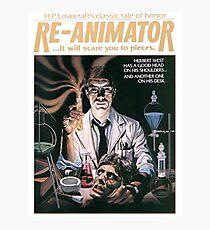 Re-Animator Tshirt! Photographic Print