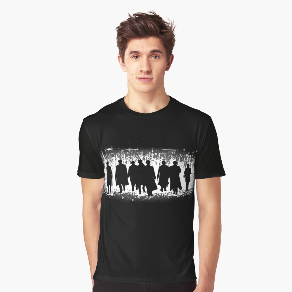 Peaky Blinders Gang Graphic T-Shirt Front