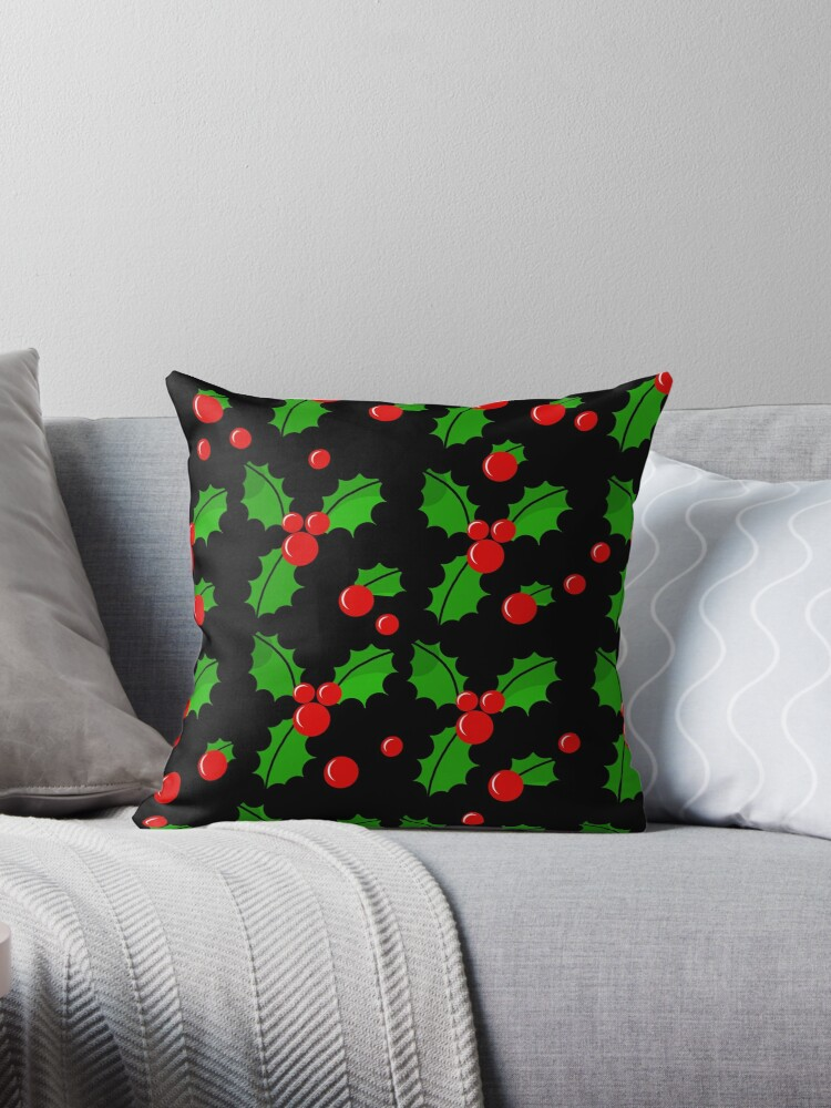 Christmas berries pattern by ValentinaHramov