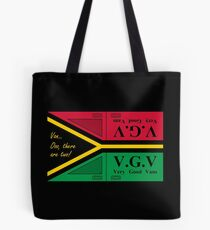Vanuatu - Van... Ooo, there are two! - by Flagging Awesome Tote Bag
