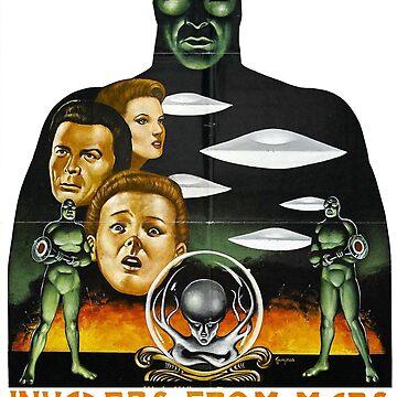 Eindringlinge von Mars Shirt von comastar