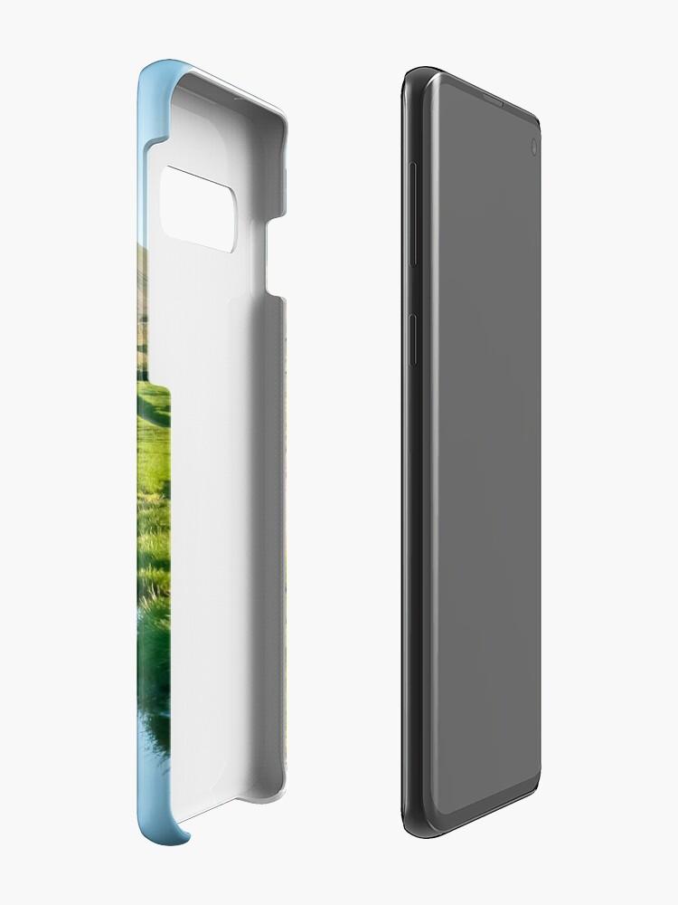 Alternate view of Reflective Ingleborough Case & Skin for Samsung Galaxy