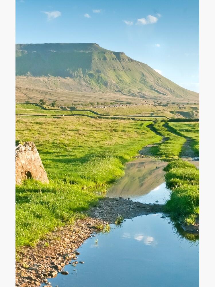 Reflective Ingleborough by stephenknowles