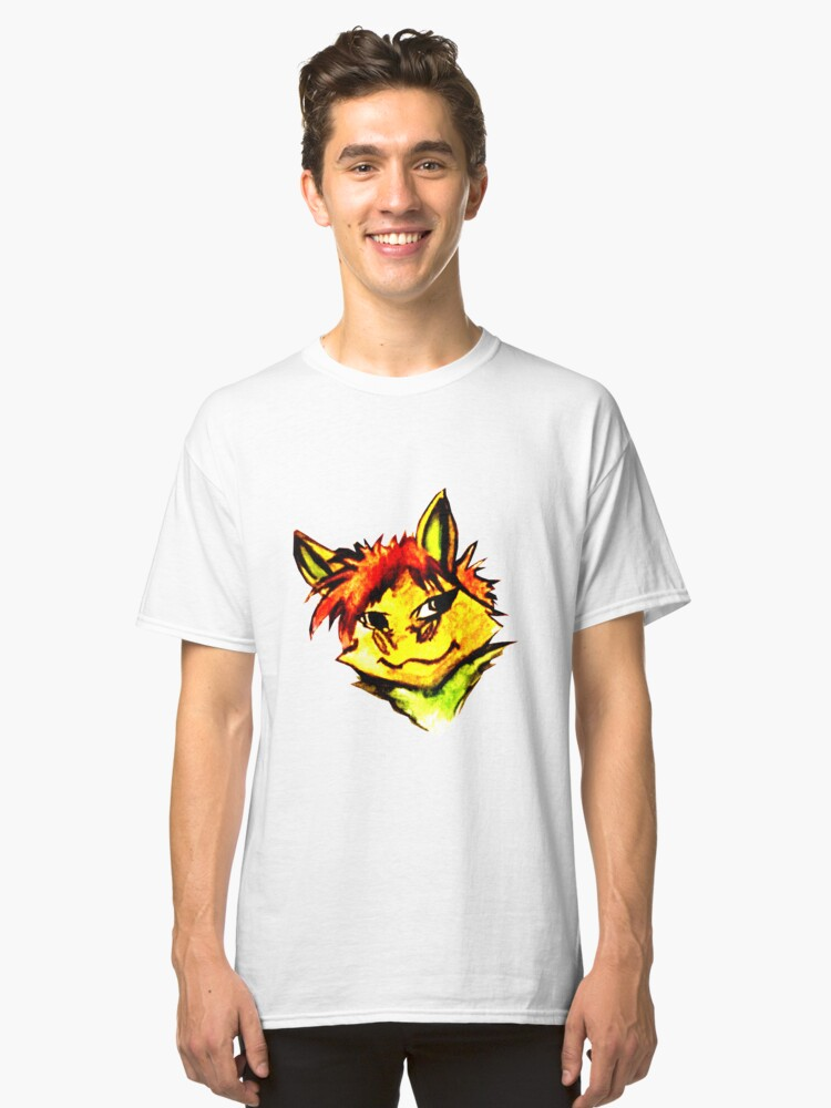 Fluffy Critty Classic T-Shirt Front