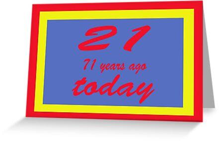 21 again birthday 92nd    by martinspixs