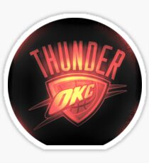 Thunder Red Sticker