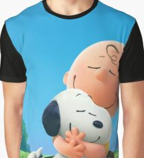 charlie brown snoopy Graphic T-Shirt