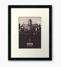 The Iron Giant Framed Print