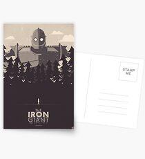 The Iron Giant Postcards