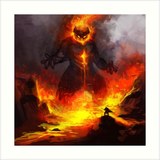 Flamewreathed Fellborne by EmoryArt