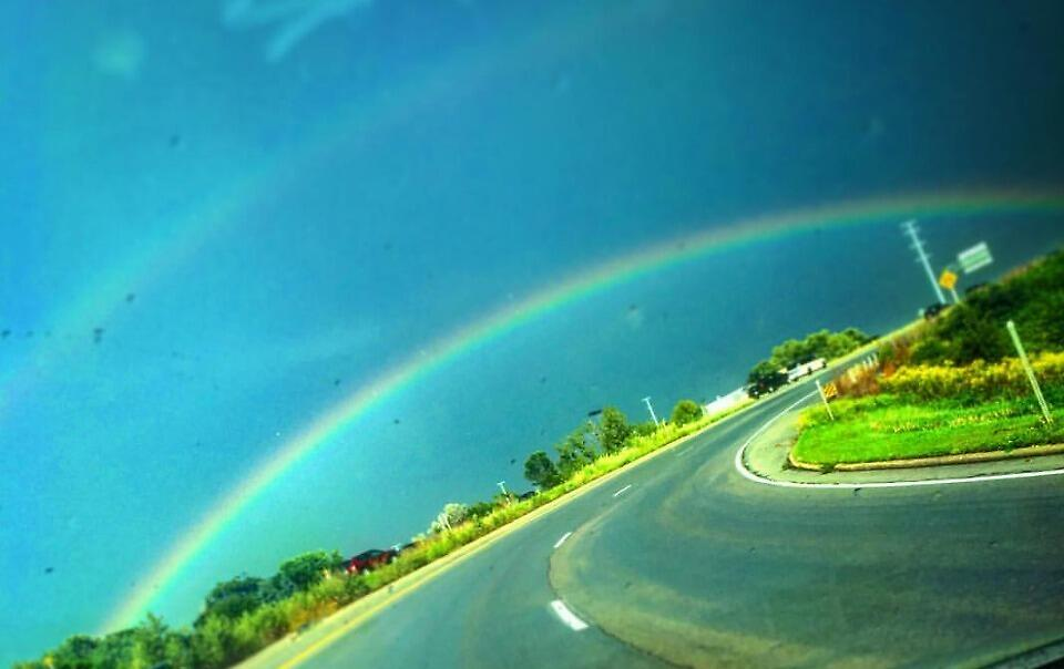 Rainbow by Benjachary Grimjolly
