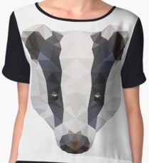 Badger Women's Chiffon Top