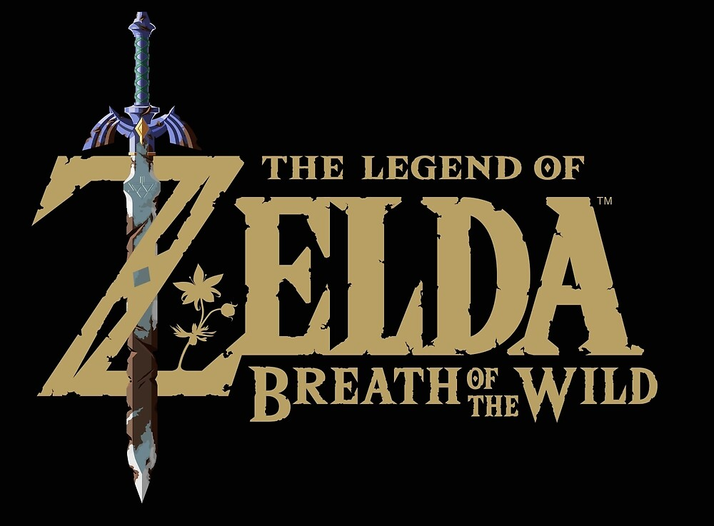 Zelda - Breath of the Wild logo by DownForWhatever