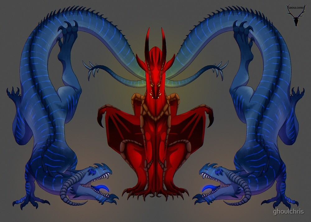 dragon banner by ghoulchris