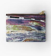 Colorful Barnboard  Studio Pouch