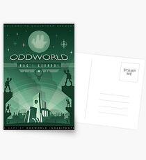 Oddworld: Abe's Exoddus Postcards
