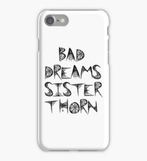 Bad Dreams - Hex Girls iPhone Case/Skin