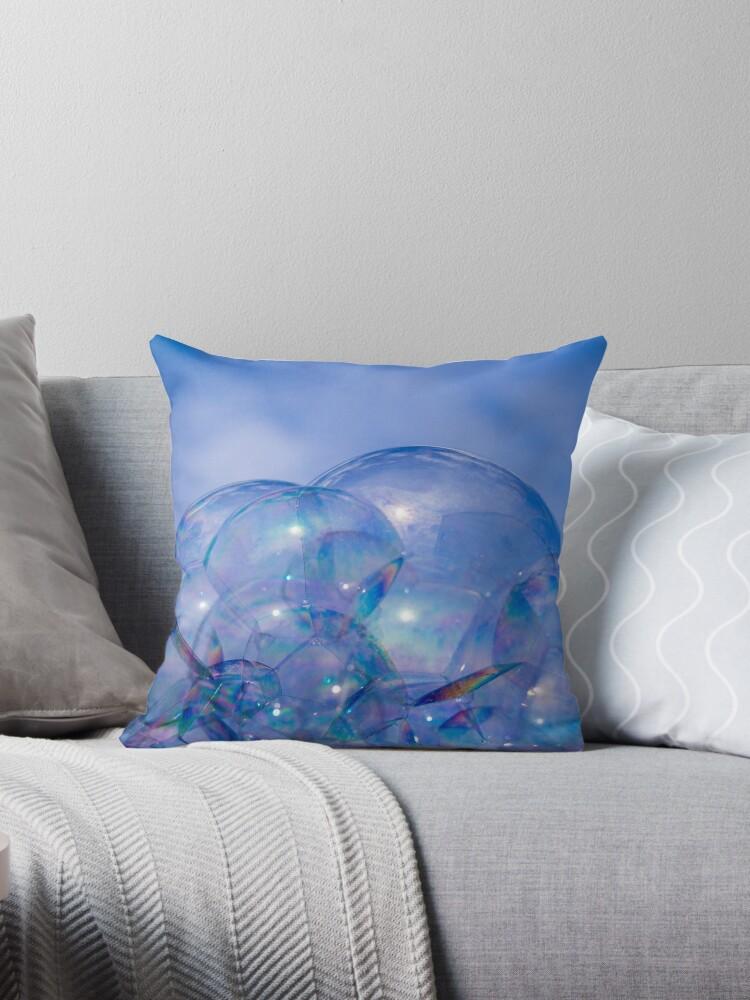 Castle of bubbles in a blue sky by gnoul4400