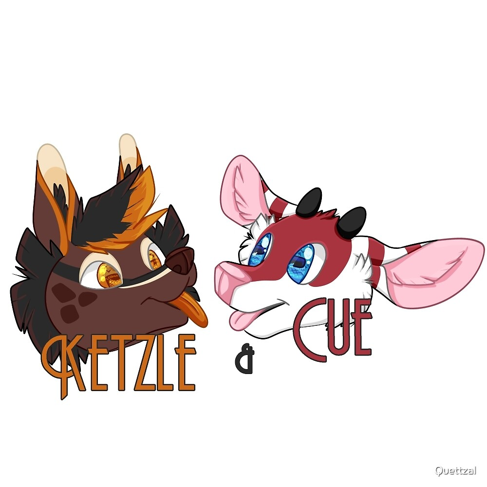 ketzle and cue by Quettzal