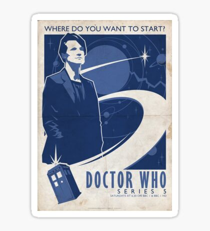 Doctor Who Series 5 Sticker