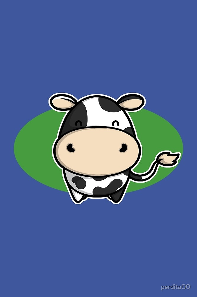 Cute Cow by perdita00