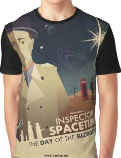 Inspector Spacetime: Day of the Blorgons Graphic T-Shirt