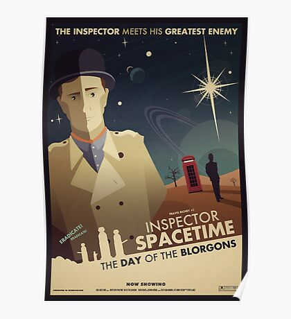 Inspector Spacetime: Day of the Blorgons Poster