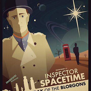Inspector Spacetime: Day of the Blorgons by ameba2k