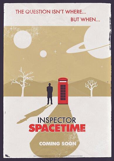 Inspector Spacetime by Jonny Eveson