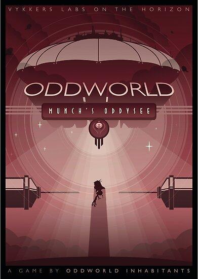Oddworld: Munch's Oddysee by Jonny Eveson