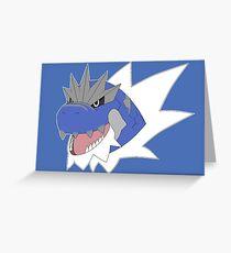 Tyrantrum (Shiny) Greeting Card